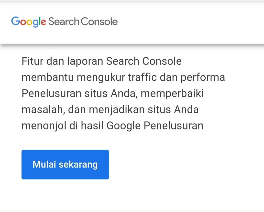 Situs Webmaster Tools Google
