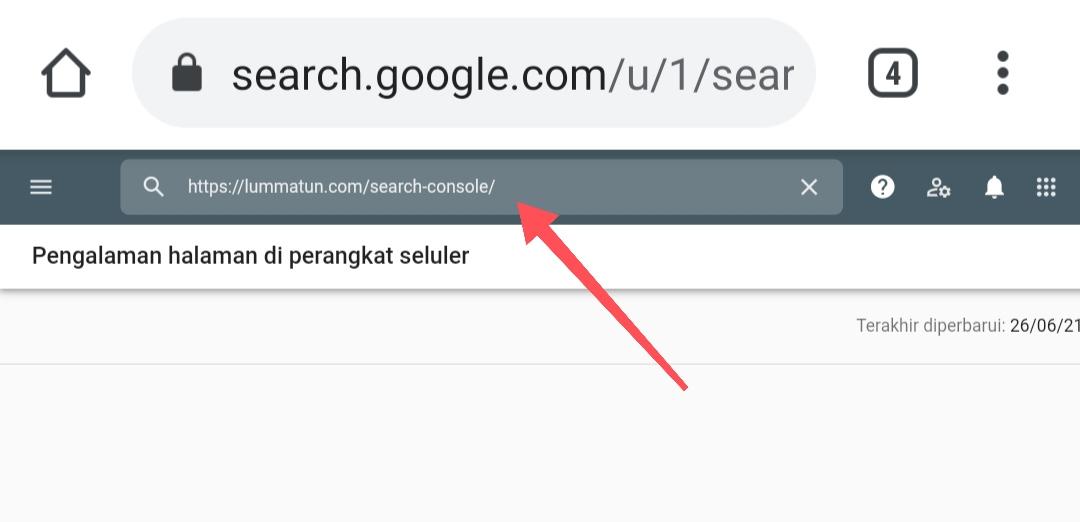 Menerbitkan artikel website ke Google