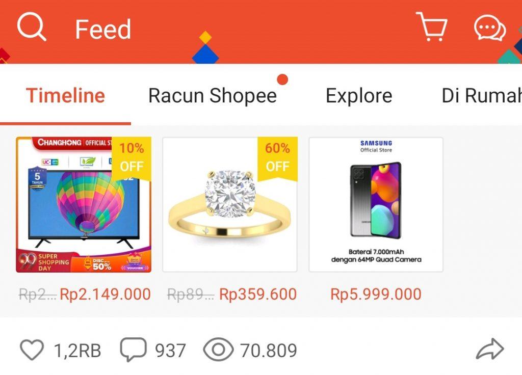 Meningkatkan penjualan dengan Feed Shopee