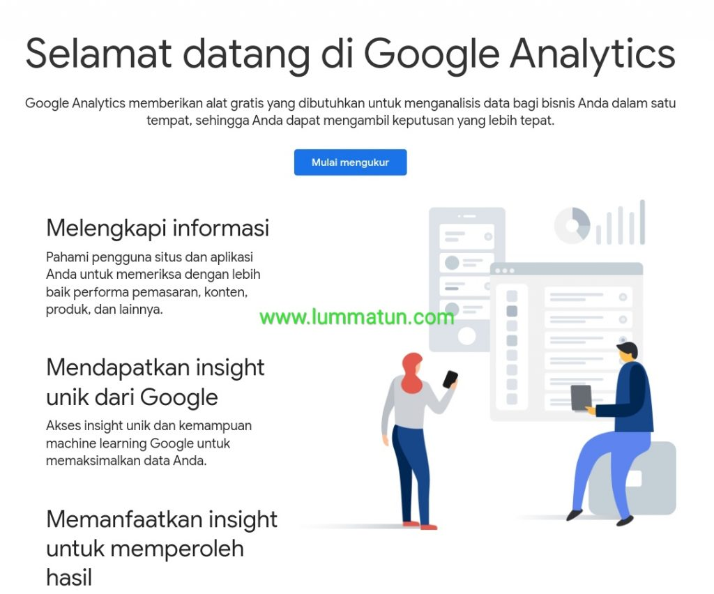 Daftar Google Analytics